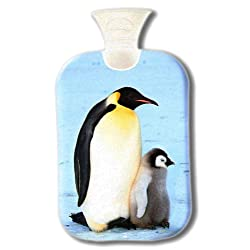 fashy MOTTAINAI スクリーンアニマル湯たんぽ 2.0L ペンギン 【洗濯できるカバー付き】 O38901