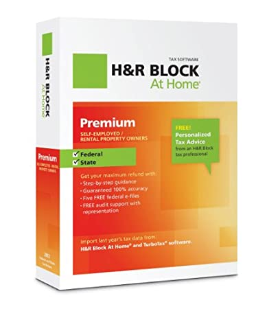 H&R Block At Home 2012 Premium
