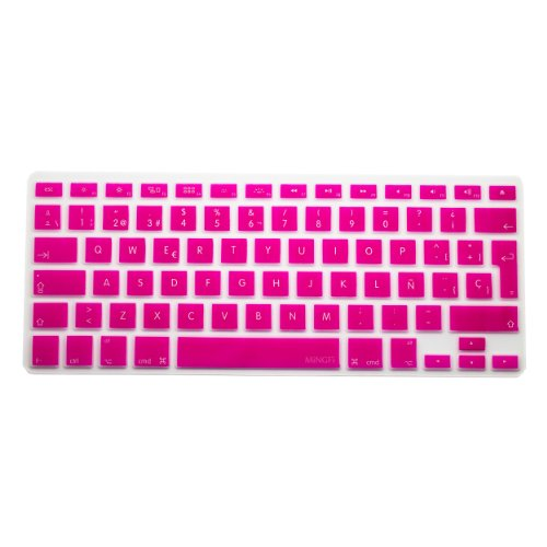 #!  MiNGFi Spanish Keyboard Cover for MacBook Pro 13
