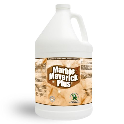 100% Natural Heavy Duty Granite Cleaner - Marble Maverick: Plus 1 Gallon front-100503