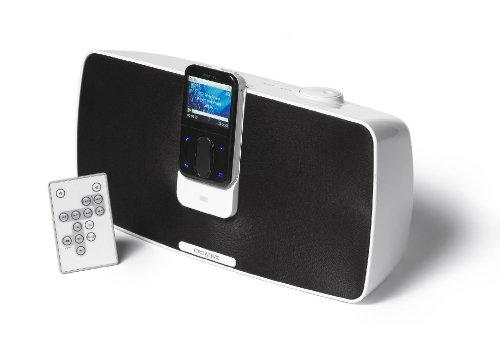 Creative PlayDock Z500 Portable speakers with digital player dock - white with black facade