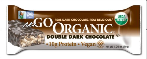 NuGo Organic Nutrition Bar, Dark Double Chocolate, 1.76-Ounce Bars (Pack of 12) (Nugo Bars Organic compare prices)
