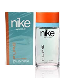 Nike Pure EDT for Women, Blue, 75ml