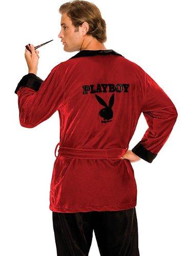 "Rubies Playboy Hugh Hefner Smoking Jacket Robe XL(44""-46"" chest)"