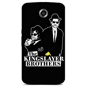 THE KING SLAYERS BROTHERS BACK COVER FOR GOOGLE NEXUS 6