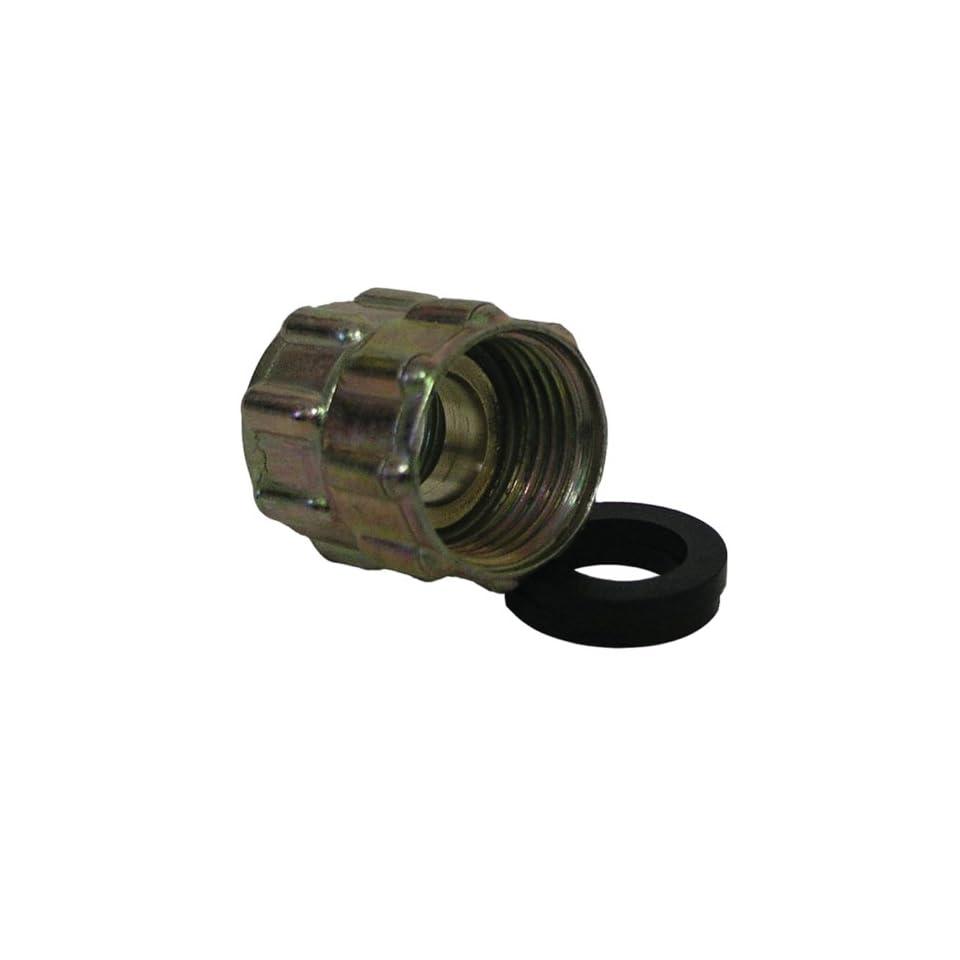 Watts A 662 Brass Garden Hose Adapter, 3/4 Inch