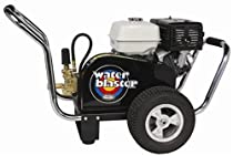 Hot Sale Simpson Water Blaster Commercial Gas Powered Pressure Washer 4200 PSI 3.5 GPM Honda GX390 Engine And 50' MONSTER Hose WB4200