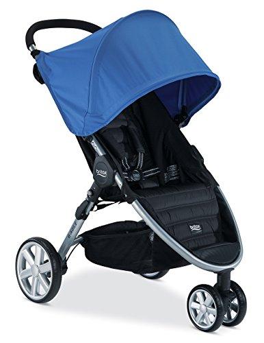 Britax B-Agile 3 Stroller, Sapphire - 1