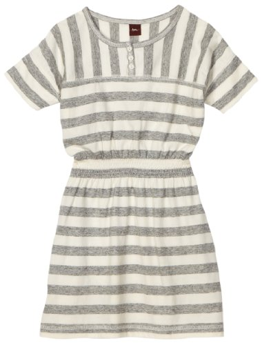 Happy Morning girls Stripe Tea Dress