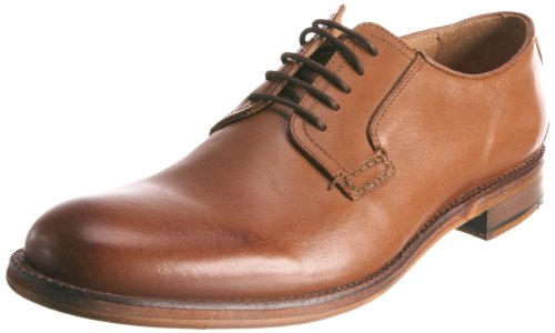 Ben Sherman Men's Qewy Postman Derby Tan Shoe 4604240 9 UK