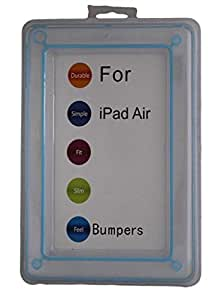 IPAD AIR BUMPER BLUE COLOUR COVER FOR HIGH PROTECTION BY REBEL