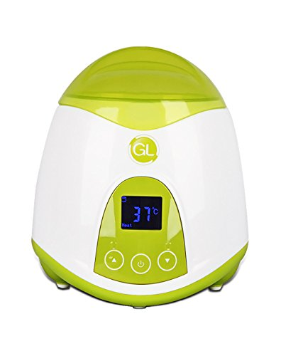 Gland Baby Bottle Warmer and Food Warmer for Heating Breastmilk Food Travel Home, Electric Portable,Quick Bottle Warming System,LCD Display (Green) (Baby Bottle Heater compare prices)