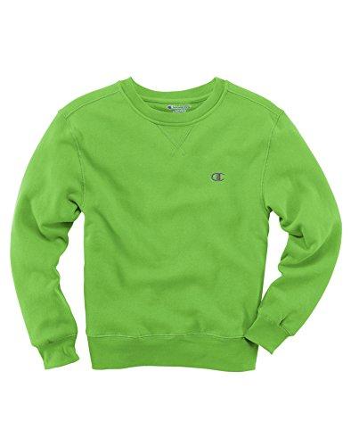 Champion Boys Zip Hoodie,C8367R,S,Electric Green
