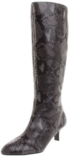 Rockport Women's Lilah High Zip Boot Marble Python Knee High Boot K58819 6 UK