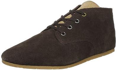 Eleven Paris Basic Color Suede, Baskets mode mixte adulte - Marron (Brown), 40 EU
