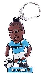 Manchester City F.C. Toure Metal Keyring BL