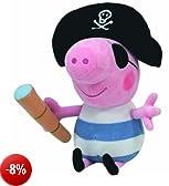 Ty peluche Buddy - Pirate George 24.cm Peppa Pig serie