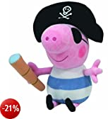 Ty peluche Buddy - Pirate George 24.cm Peppa Pig serie