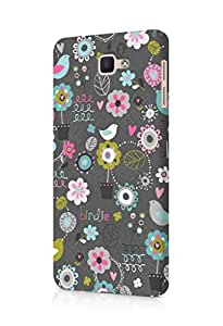 Cover Affair Cute Printed Back Cover Case for Samsung Galaxy On 7 2016
