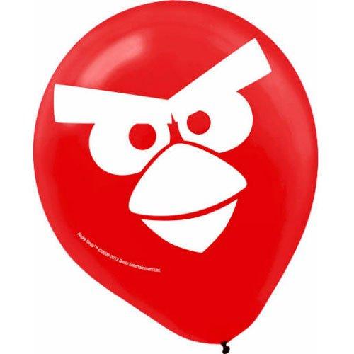 Imagen de Angry Birds globos de látex (6) Accesorios Partido