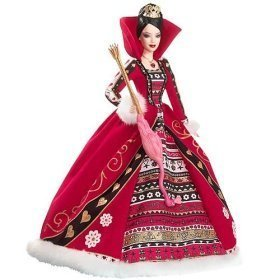 Queen of Hearts Barbie by Mattel (English Manual)