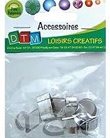 DTM - 12 Emporte-pièces Mini Géométrique - Fimo - Loisirs créatifs