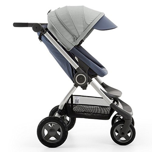 Scoot Stroller V2 - Slate Blue