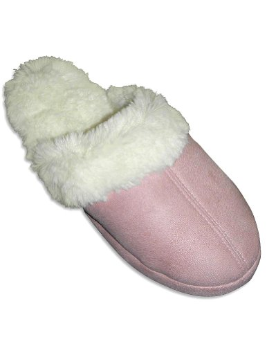 Image of Goldtoe - Ladies Slipper, Pink, Winter White 27623 (B0064DRZKA)