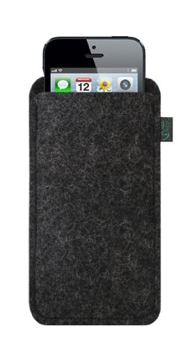 krings fashion filztasche f r apple iphone 5 filzfarbe. Black Bedroom Furniture Sets. Home Design Ideas