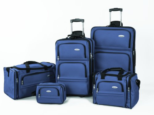 Samsonite Luggage 5 Piece Nested Set, Sapphire, One Size
