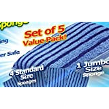 Microfiber Magic Sponge- 5 Piece Pack