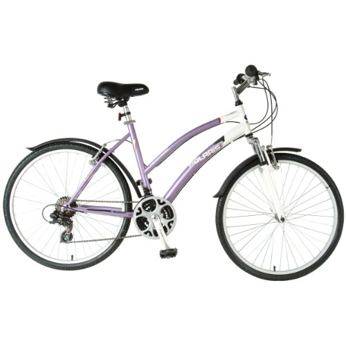 Polaris Ladies Sportsman Comfort Bike (Purple/White, 26 X 19-Inch)
