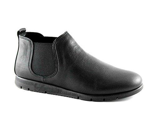 FRAU FX 53M2 nero scarpe donna stivaletti tronchettI beatles pelle comfort 41