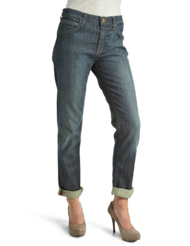Lee Women's Kunae Jeans Dark Worn 30W X 33L