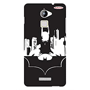 White Batman - Mobile Back Case Cover For COOLPAD NOTE 3 LITE