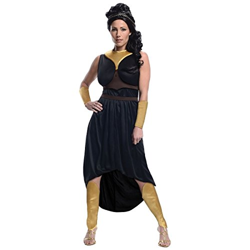 [GSG Queen Gorgo Costume Adult 300 Halloween Fancy Dress] (Womens Three Musketeers Costumes)