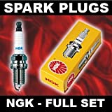 Spark Plugs NGK BPR6EKN x4 - LOTUS ESPRIT 2.2 85>on Opt-1of3