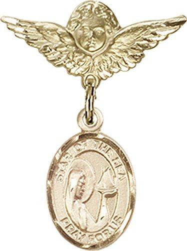 14 Karat White Gold Genuine 0.20tcw Citrine November Baby Gemstone Ring