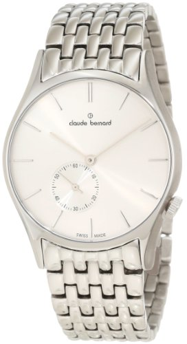 Claude Bernard Men's 23093 3 AIN Classic Gents Silver Dial Stainless Steel Watch