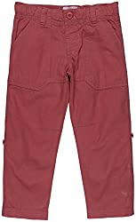 Oye Twill Pant With Bottom Rollup - Pink (12 - 18 Months)