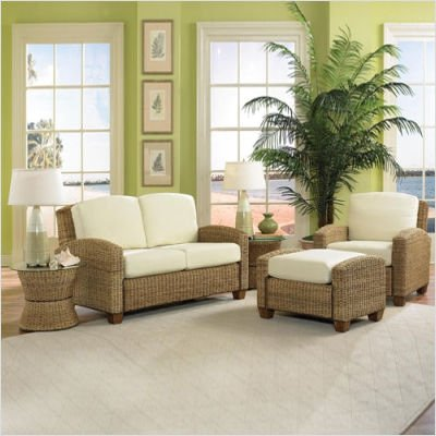 Buy Low Price Home Styles Cabana Banana Chair, Ottoman and Loveseat in Honey (5401-200 / 5401-50 / 5401-90 / 5401-20 /)