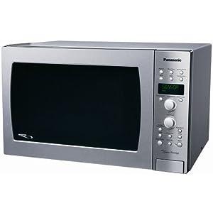 "Panasonic NN-CD989S Genius ""Prestige"" 1.5 cuft 1100-Watt Sensor Convection Microwave with Inverter Technology, Full Stainless Steel"