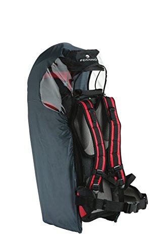 Ferrino Baby Carrier Cover Protezione Pioggia per Zaino Porta Bimbo, Grigio
