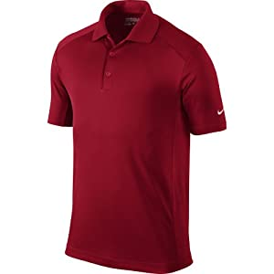 Nike Golf 2014 Dri-FIT Victory Polo Team Crimson/White Small
