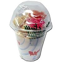 カップ 金魚 12個セット ( 夏 季節 の 和菓子 半 生菓子 期間限定 京都 お菓子 スイーツ おやつ  ギフト プチギフト 人気 定番 )