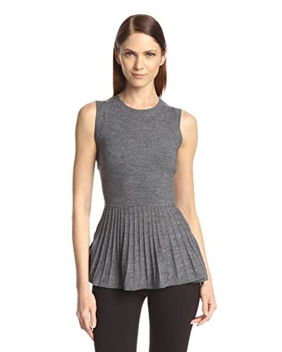 Susana Monaco Women's Claire Peplum Sweater Top