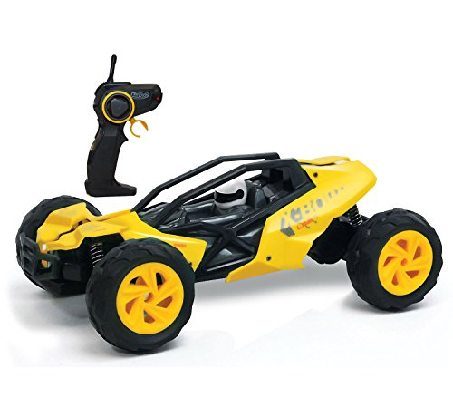 KidiRace Racing Buggy - Remote Control Car - Yellow - Fun and Easy to Control (Battery For Car Control Remote compare prices)