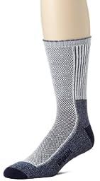 Wigwam Men's Cool-Lite Hiker Pro Crew Socks, Navy, Medium