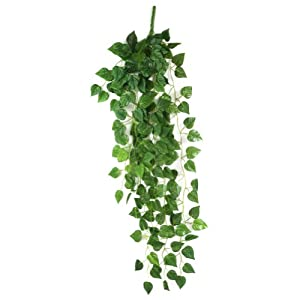 Amazon.com: Atificial Fake Hanging Vine Plant Leaves Garland Home