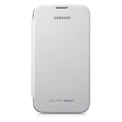 Samsung Flip Cover for Galaxy Note 2 - White